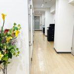 オフィス共用部・通路1|METSオフィス新宿三丁目